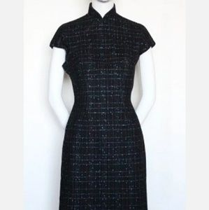 Vintage 60's Custom Made Chinese Style Dress
